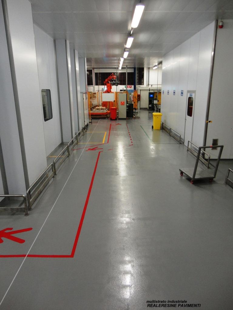 Pavimenti in resina industriale milano for Resina mapei